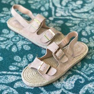 Summer Vibes Woven Espadrille Sandal